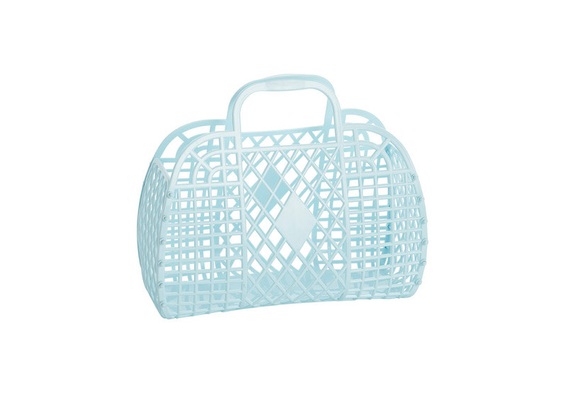SS18 Collection / jelly Basket_Small_blue (진열상품50%)